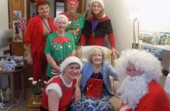 Cedar Court – Santa & His Team of Elves