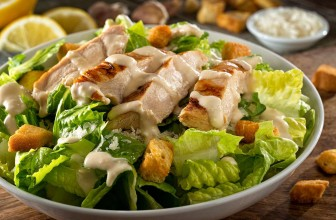 Next Level Chicken Caesar Salad