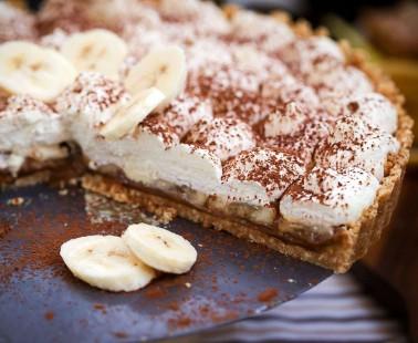 Light Banoffee Pie