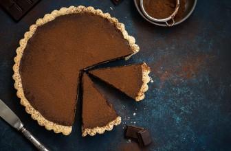 Chocolate & Date tart
