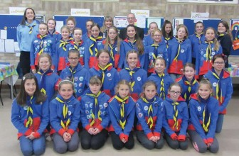 Girlguiding Cranleigh Benefits From Councillor Povey's Donation