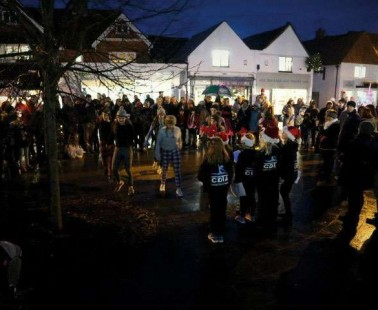 Cranleigh Christmas Lights Switch-On