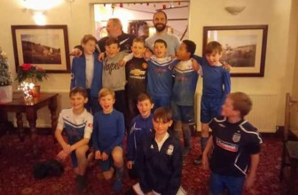 Cranleigh Under 11's Football Team win the Championship