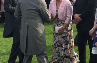 Girlguiding Commissioner Meets His Royal Highness The Prince Of Wales
