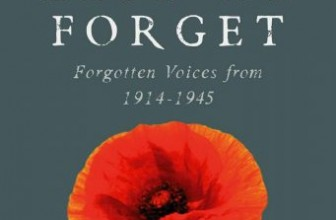 Book Review – Lest We Forget – Max Arthur