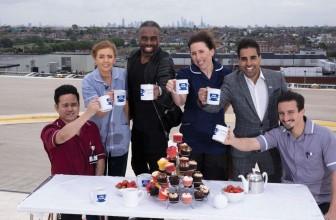 Dr Ranj, Charles Venn & NHS Staff Raise A Cuppa For NHS Big Tea
