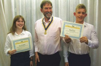 Cranleigh Rotary – Another Youth Leadership Success for Cranleigh