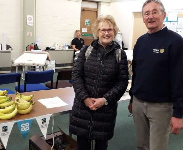 Cranleigh Rotary Refreshes MABAC Runners