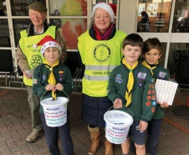 Cranleigh Rotary Supports Local and Overseas Charities
