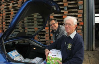Cranleigh Rotarian – Romanian Children Shoebox Appeal