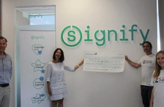 Local Cranleigh charity receives £1,000 grant from Signify