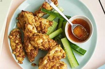 Nutty Chicken Satay Strips